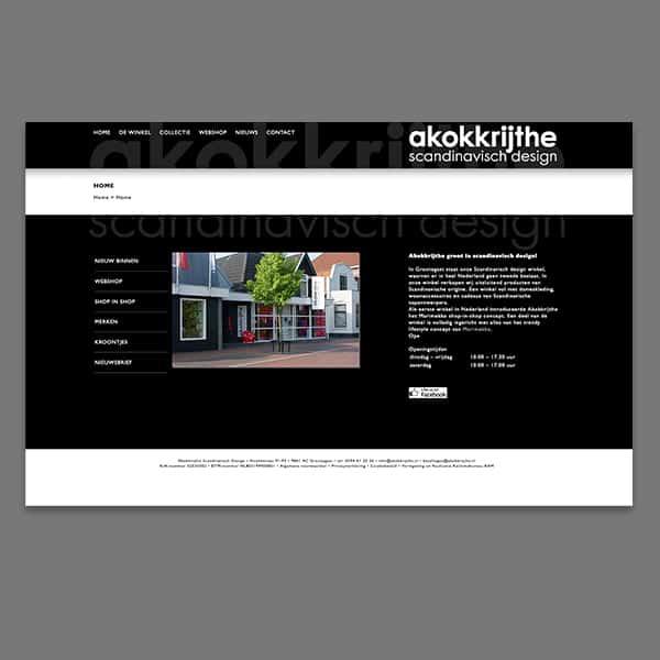 Akokkrijthe - klant Reclamebureau RAM - website
