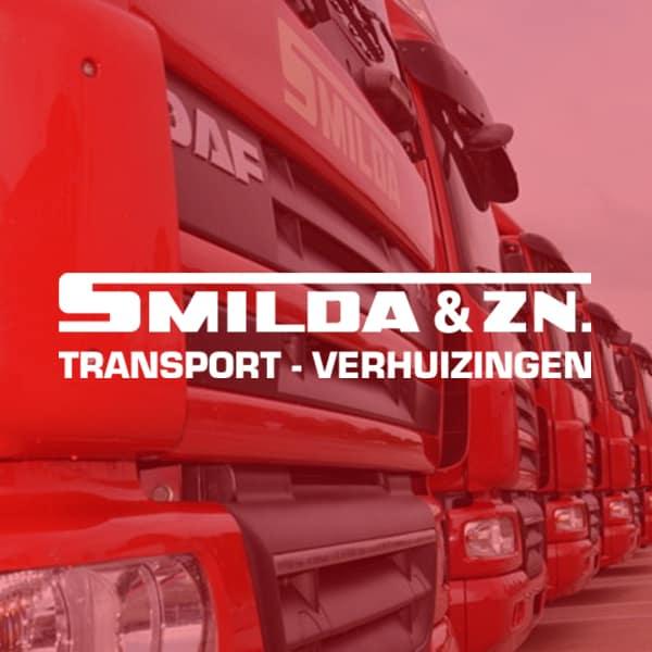 Smilda Transport Verhuizingen - klant Reclamebureau RAM - logo