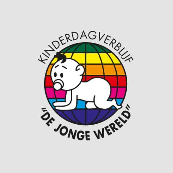 De Jonge Wereld - Klant Reclamebureau RAM - ontwerp logo