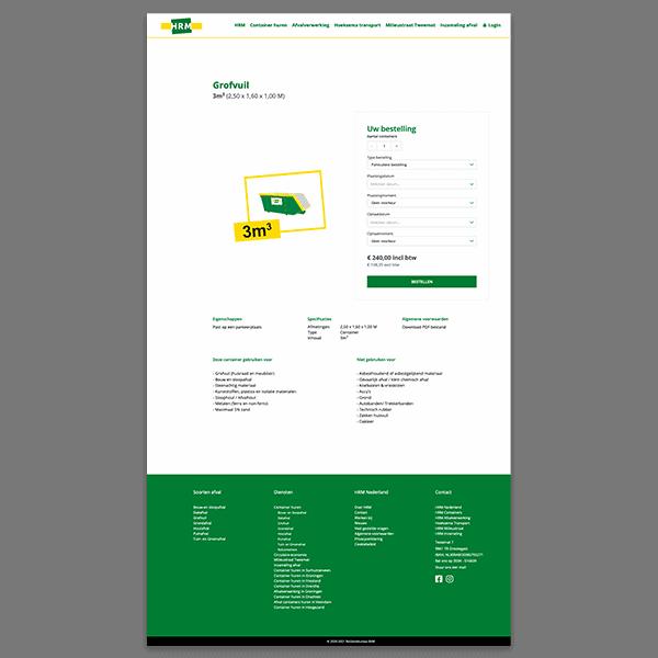 HRM - Klant Reclamebureau RAM - ontwerp website en webshop