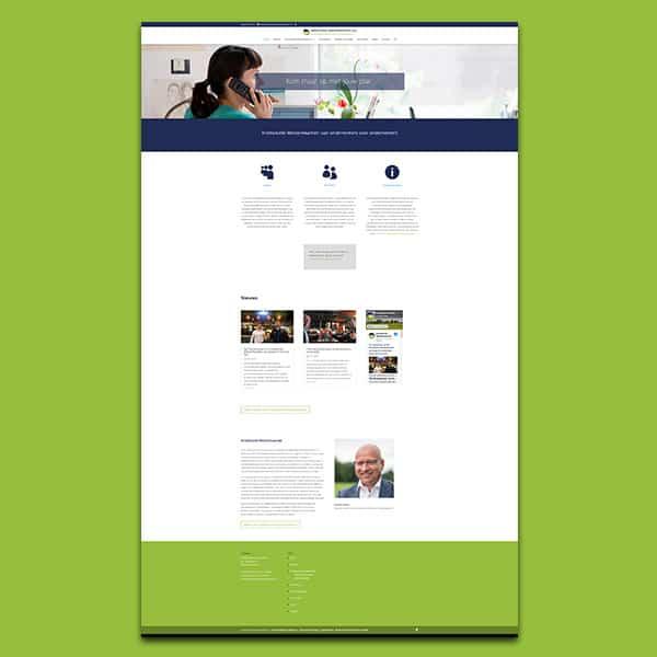 Kredietunie Westerkwartier - Klant Reclamebureau RAM - Hosting + onderhoud website