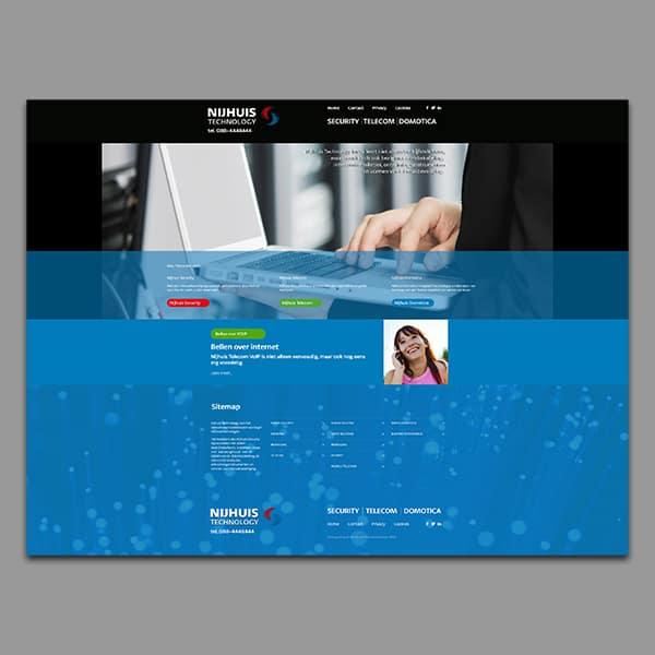 Nijhuis Technology - Klant Reclamebureau RAM - website