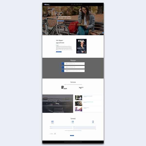 Retailfit - Klant Reclamebureau RAM - ontwerp + onderhoud website