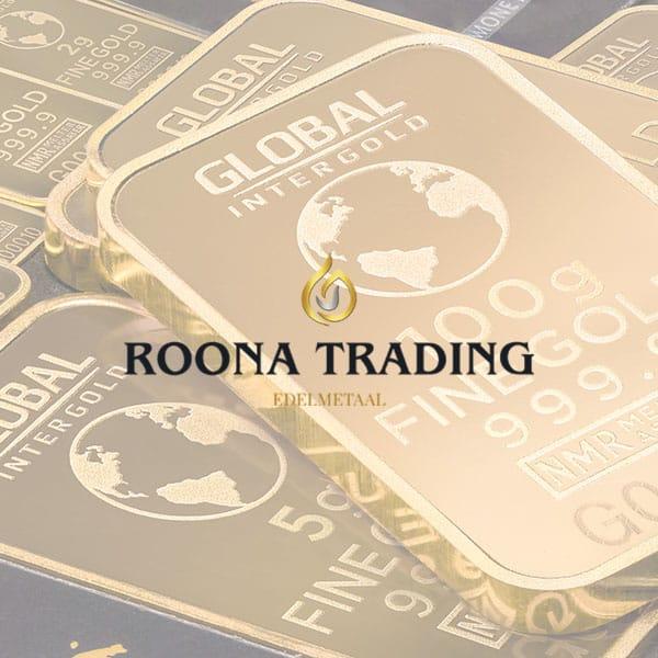 Roona Trading - Klant Reclamebureau RAM - ontwerp logo